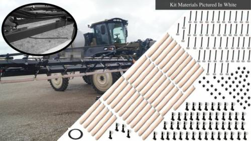 Tractor Self Propelled Sprayer Weed wiper kits